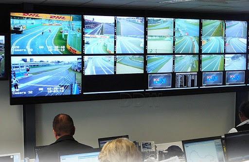استفاده از ویدیو وال در اتاق کنترل دوربین های مداربسته